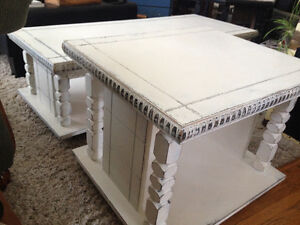 Chalk Paint Coffee Table & End Table