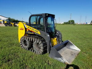 New Holland Skid steer L215 with tracks