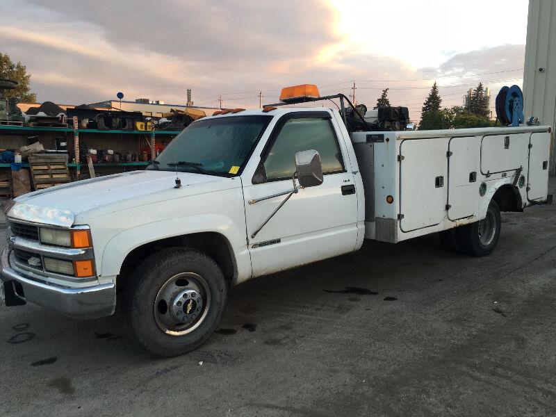 Chevrolet Trucks Kijiji: 1999 Chevrolet C/K Pickup 3500 SERVICE TRUCK Pickup Truck