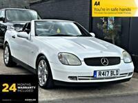 1998 Mercedes-Benz SLK 2.3 SLK230 Kompressor Kompressor 2dr Convertible Petrol A