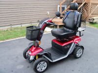 PRIDE XL MOBILITY SCOOTER & TRAILER