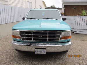 WANTED  PARTS TRUCK   1992 to 1996 FORD  F150  XLT  2 WD.