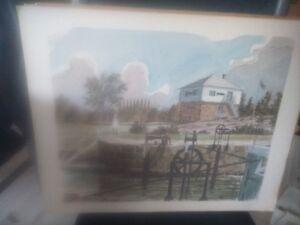 8 Prints of Rideau Canal 150 years (1832-1982) Gatineau Ottawa / Gatineau Area image 2