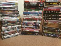 60+ DVDs