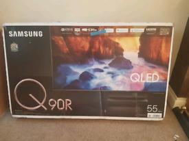 Samsung 55 q90r qled 4k smart tv brand new boxed call 07550365232