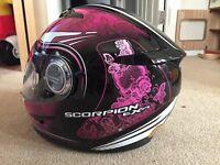 Scorpion Exo 500 Motorcycle Helmet Size XS 54cm