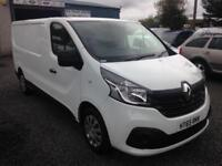 Renault Trafic 2016 year lwb 115 Business+ Sat nav/air con