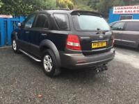 2006 Kia Sorento 2.5CRDi XS LEATHER SEATS MOT AUGUST 18 3 MONTHS WARRANTY