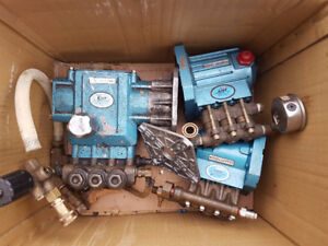 Pressure washer pumps for parts or rebuild - name brand