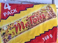 WHOLESALE JOBLOT - Mr. Tom peanut bars - bulk buy clearance - job lot
