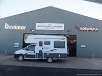 nu-venture quattro two berth motorhome for sale u-shape lounge