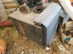 Wood stove.  Excellent condition