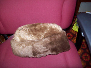 Genuine Beaver fur hat by Biltmore Canada. Size large.