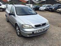 Vauxhall Astra Sportiv Di Van silver diesel Px welcome