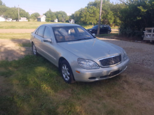Rare Designo Mercedes S-Class W220, great shape, over $130k new