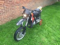 Aprilia MX125 Supermoto like rs Learner Legal