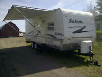 Salem LE 27 ft Travel Trailer with Bunk Beds and Two Slide Outs