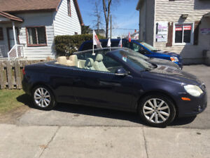 VOLKS  EOS   2007   Convertible     125 000 km