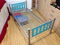 Aluminium Single bed frame