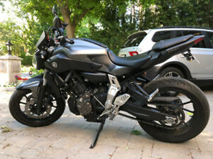 Yamaha FZ07 - Matte Grey - Mint Condition - 2015