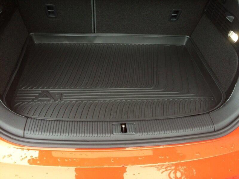 Audi A1/S1 Rubber Floor Mats & Boot Liner