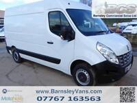 2014 14 RENAULT MASTER MWB MED ROOF 100BHP FINANCE AVAILABLE LOOK