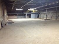 Commercial bays for rent