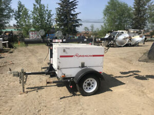 Light Towers & Water Pumps for Rent