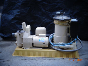 Pool and /or hottub pump and heater
