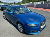 2012 AUDI A4 AVANT 2.0 TDI SE ESTATE Auto 141bhp in Metallic Blue / Black trim