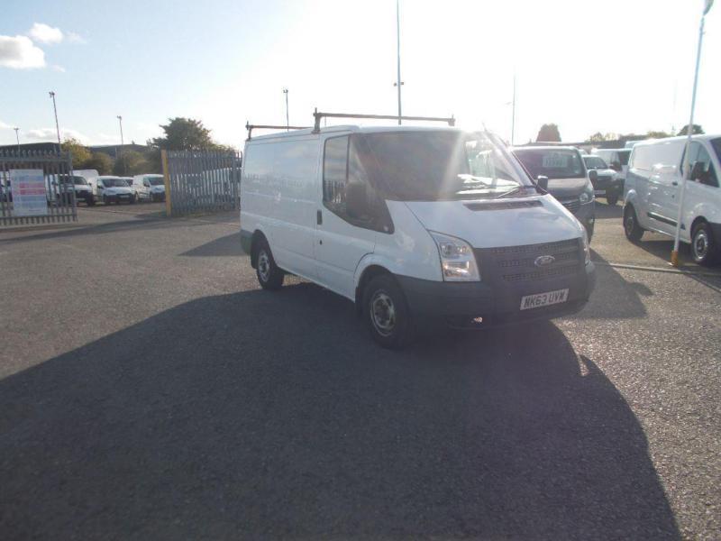 Ford Transit Low Roof Van Tdci 100Ps DIESEL MANUAL WHITE (2013)