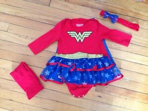 Wonder Woman Baby Girl Halloween Costume