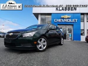 2014 Chevrolet Cruze Diesel  - Leather Seats -  Bluetooth - $130 B/W
