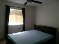 Furnished bedroom+washroom avaliable for rent in the West end
