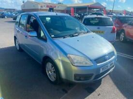 image for 2005 05 FORD FOCUS C-MAX 1.8 GHIA IN PEARL BLUE.GREAT MPV.FULL MOT.PX WELCOME.