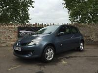 Renault Clio 1.4 16v 98 Dynamique LOW MILEAGE 2007 in Blue | £17.26 PER WEEK!