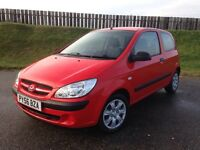2007 HYUNDAI GETZ GSI 1.1 12V - 30K MILES - F.S.H - ECONOMICAL - GREAT VALUE - 3 MONTHS WARRANTY
