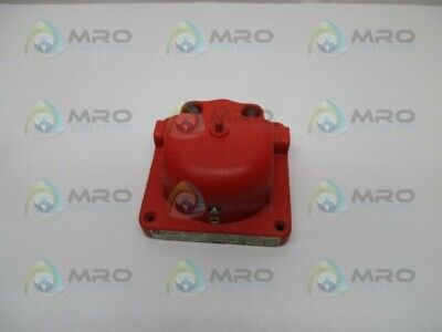 Simplex 4080 Red Vibrating Bell In Box Used