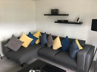 Two Seater Couch with Chaise Lounge - **FOR SALE**