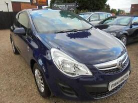 2013 13 VAUXHALL CORSA 1.0 S ECOFLEX 3D 64 BHP CHEAP TO INSURE MODEL 35K MILES