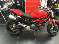Ducati MONSTER 696+ LOVELY 1 LADY OWNER LOW MILEAGE BIKE.