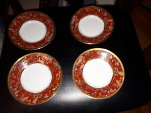 vintage Christian Dior - Tapisserie china - 6in. bread plates