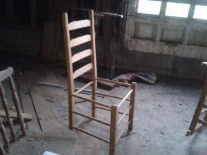 Chaise et bercante
