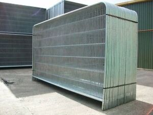 Haras Site Fencing Security Fence Panel Temporary Compatible With All Fencing