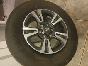 New Open Country 265/65/17 All Season Tires w Tacoma Sport Rims
