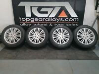 """20"""" GENUINE RANGE ROVER DISCOVERY 1012 ALLOYS & GOODYEAR AT TYRES"""