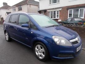 2007 Vauxhall Zafira 1.6i 16v Energy five door mpv 7 seats estate mot 3/7/19