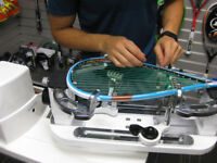 Professional Racquet Stringing service