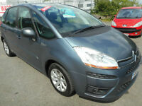 CITROEN C4 PICASSO VTR PLUS DIESEL MANUAL 5 DOOR