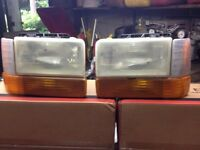 Dodge dakota headlamps(phares)